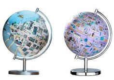 Globee City Globes Family Find  globes that map out just one city - a dozen cities to choose from