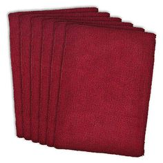 Designed to take on any household task, these Microfiber Kitchen Towels from Design Imports loosen food and grime on countertops, tables, dishes and more. Features ultra-absorbent capability that holds up to 7 times its weight in liquids.