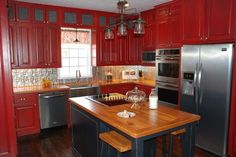 From Dull to Elegant Farmhouse: After from this old house's Best Kitchen Before and Afters 2013
