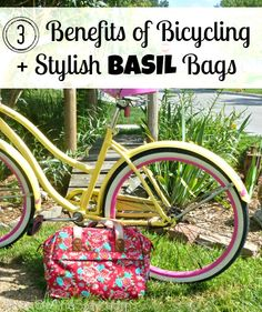 3 Benefits of Bicycling   Stylish Bags for Bicycles and Beyond