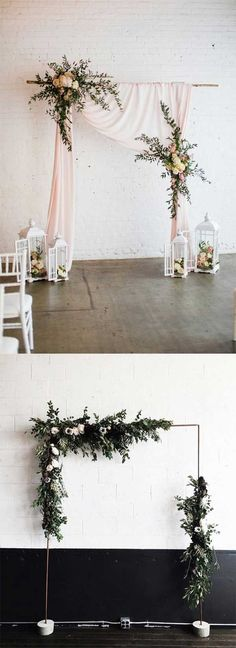 100 BEST FLORAL RUSTIC WEDDING ALTARS & ARCHES DECORATING IDEAS FOR 2018 SPRING WEDDING - Wedding Invites Paper