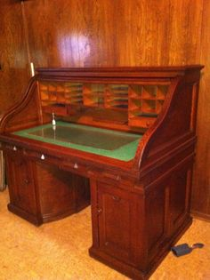 Wooton Rotary Desk by thebirdcageantiques on Etsy, $3500.00