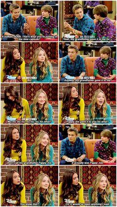 "#GirlMeetsWorld 2x04 ""Girl Meets Pluto"" - Riley, Maya, Lucas and Farkle"