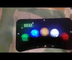 Whac-A-Mole like game with Arduino and Arcade style LED buttons. Laser Cut Panels, Arduino, Arcade, Buttons, Make It Yourself, Projects, Log Projects, Blue Prints, Plugs