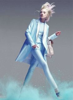Candy-Colored Editorials - The Olivka Chrobot Marie Claire Australia Editorial is Fabulous