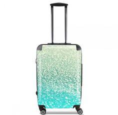 Valise Gatsby Mint cabine trolley by Monika Strigel  95 €  #trolley #cabinetrolley #koffer #handgepäck #reisekoffer #kabinenkoffer #girlsontour #luggage #baggage #rolls #rollenkoffer