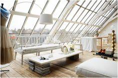 Loft/attic space. Photo by Philip Karlberg