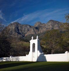 Historical Cape Dutch architecture, (Babylonstoren, South Africa)