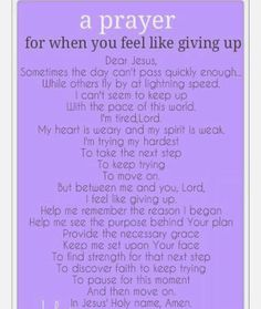 "Sometimes you have those days where you feeling like throwing in the towel and Scream ""Im freaking tired! I give up!"" When you feel like that find something or someone that can help you find your way back. We all have those days. Just don't give up.  #giveup #prayer #GOD #healing"
