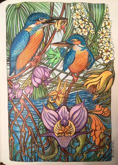Manic Botanic By Zifflin Author Irina Vinnik Illustrator Find This Pin And More On Vinniks Coloring Books
