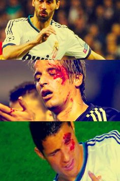 The Real Madrid jersey can be stained with mud, sweat and even blood but never with shame.