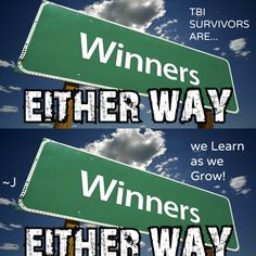 Succeed, Yay...yet Fail and Learn, Yay too.  Either way, we are winners!
