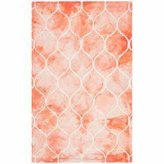 Safavieh Dip Dye Simonette Hand-Tufted Area Rug, Orange