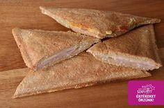 Tojásmentes paleo gluténmentes melegszendvics Paleo, Gluten, Bread, Food, Brot, Essen, Beach Wrap, Baking, Meals