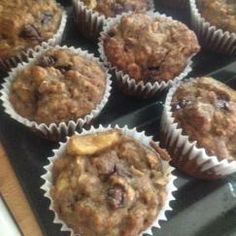 Camelina Banana Muffins - Diabetic Friendly (Sugar-Free) Diabetic Friendly, Sugar Free, Muffins, Banana, Oil, Breakfast, Recipes, Morning Coffee, Muffin