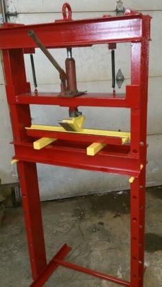 how to make a press – Door Ideas Sheet Metal Brake, Sheet Metal Tools, Metal Bending Tools, Metal Working Tools, Metal Projects, Welding Projects, Diy Projects, Homemade Tools, Diy Tools