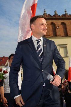 Nowy Prezydent Polski Andrzej Duda, wybrany 24 Maja 2015r.
