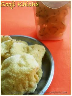 step by step process of making papads with semolina, Sun Dried Recipe