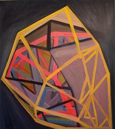 "Ashlynn Browning The Prevailer, 2011, oil on panel, 38"" x 34"""