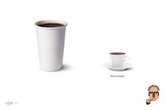 Imaginary ad campaign of Kurukahveci Mehmet Efendi, a famous Turkish coffee brand, by Hayt Huyt