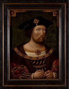 King Henry VIII, Anglo-Netherlandish artist unknown, c.1520, © National Portrait Gallery, London