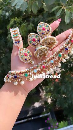 Fancy Jewellery, Trendy Jewelry, Simple Jewelry, Fine Jewelry, Fashion Jewelry, Jewelry Design Earrings, Garnet Jewelry, Jewellery Designs, Jewelry Accessories