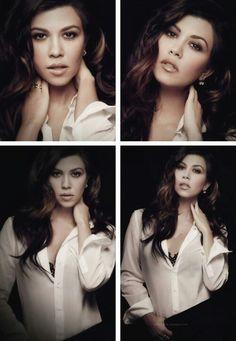 Kourtney Kardashian-don't judge me....she is hilarious and stylish.