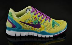 low priced 63c42 e781b Yellow Olympic Shoes -Nike Free TR Fit Womens Breathe Cyber Magenta New  Green Tiffany Blue