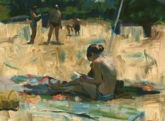 Beach #7 (large) by Darren Thompson available on UGallery.com