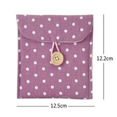 by Bags pursesSource by Bags purses Women Girl Cute Sanitary Napkin Towel Pads Small Bag Purse Holder Organizer MG Sanitary Pad Napkins Pouch Towel Bag Holder Small Article Nursing Panty Liner Sewing Hacks, Sewing Tutorials, Sewing Crafts, Sewing Projects, Sewing Patterns, Polka Dot Bags, Sanitary Napkin, Fabric Bags, Little Bag