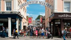 Greenwich market is fun, colourful and packed with arts, crafts and tasty food.