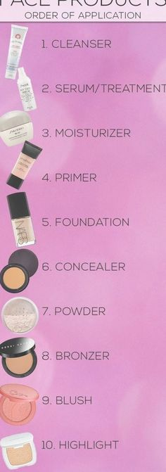 17 ideas makeup tutorial foundation make up how to apply Make Up Tutorial Contouring, Makeup Tutorial Foundation, Makeup Tutorial Step By Step, Makeup Tutorial For Beginners, Makeup Products For Beginners, Eye Tutorial, Make Up Tutorials, Diy Makeup Tips And Tricks, Steps Of Makeup