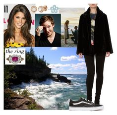 """""""-read- going for a walk to the coast of Michigan Lake near Chicago with Aaron and unexpectedly being proposed"""" by madame-des-etats ❤ liked on Polyvore featuring Paul Frank, Allurez, Pied a Terre, Tiffany & Co. and Vans"""
