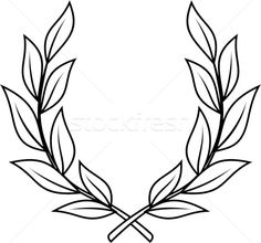 Most up-to-date Photos Laurel Wreath vector Style A new laurel wreath can be a w. : Most up-to-date Photos Laurel Wreath vector Style A new laurel wreath can be a wreath this is created while using the leaves plus limbs from the fresh Detailliertes Tattoo, Tattoo Bein, Tattoo Drawings, Laurel Tattoo, Laurel Wreath Tattoo, Traditional Tattoo Sketches, Small Tattoos, Tattoos For Guys, Tatuagem Old Scholl