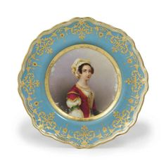 BY THE IMPERIAL PORCELAIN FACTORY, ST PETERSBURG, PERIOD OF NICHOLAS I, 1844
