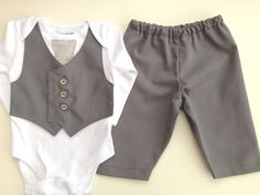 Baby suit little boys wedding outfit baby boy by ThisisLullaby, £32.00