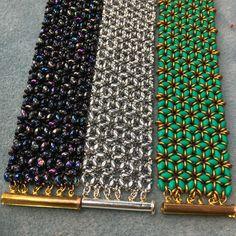 O - Mosaic bracelets Pattern by akkesieraden