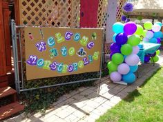 Monster's Inc Birthday Party Ideas   Photo 30 of 36   Catch My Party
