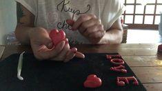 Fondant szív készítése gyorsan, egyszerűen