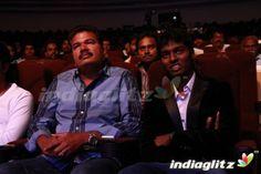 Atlee Kumar With Shankar at Raja Rani 100 Days Celebration