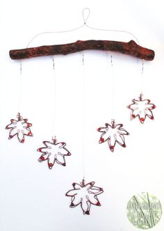 Japanese Maple Leaf Hanging Mobile