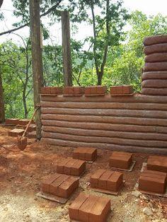 Casa de Barro: Bioconstrução