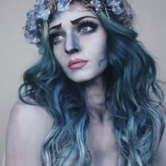 Need makeup ideas for Halloween? If you're thinking about being a corpse bride, check out this makeup tutorial to see what haunting finishing touches you can add on.
