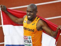 オランダのチュランディ・マルティナ 男子100mで金