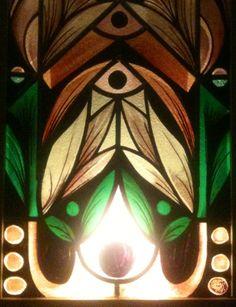 Stained glass glas in lood door Geert Cooijmans