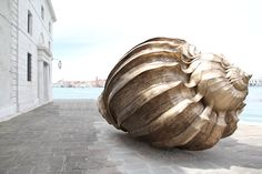 marc quinn at the cini foundation in venice - during biennale 2013