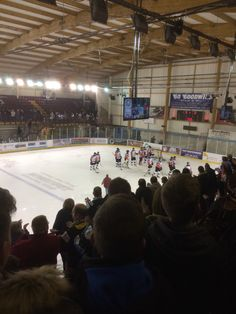 The manchester Ice-hockey game