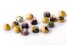 Atieh Bonbon Collection- Exquisite Persian Inspired- Chocolate Secrets. #ChocolateSecrets #bonbon #Persian #FoodPhotography #Atieh #HandPainted
