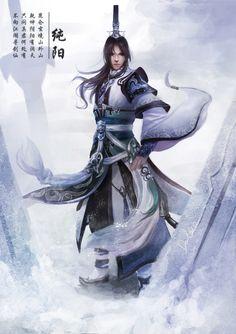 Asian fantasy art, digital illustrations and character studies. Amazing matte paintings 剑三 纯阳