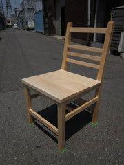 2011年5月19日 みんなの作品【椅子】 大阪の木工教室arbre(アルブル)